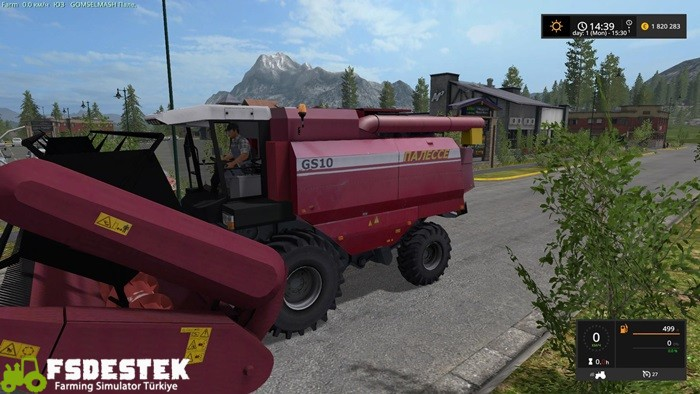 Photo of FS17 – Palesse GS-10 Biçer Döver V1