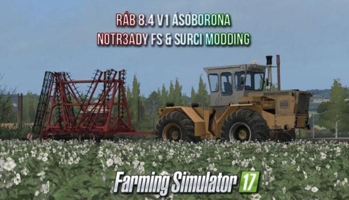 Photo of FS17 – Raba 8.4 Traktör V1