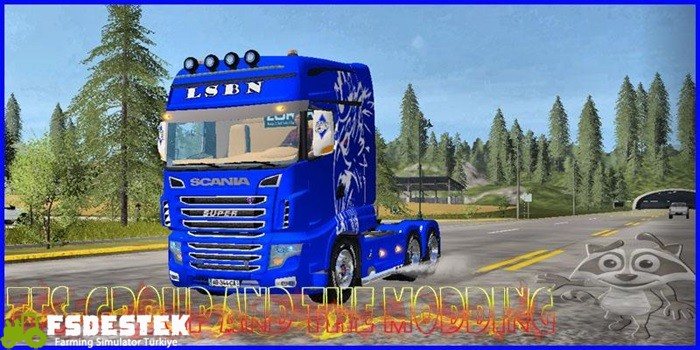 Photo of FS17 – Scania LSBN 700EVO Kamyon Modu