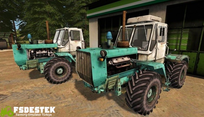Photo of FS17 – T-150K Traktör V1.2