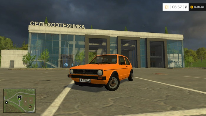 Photo of FS17 – Volkswagen Golf 1