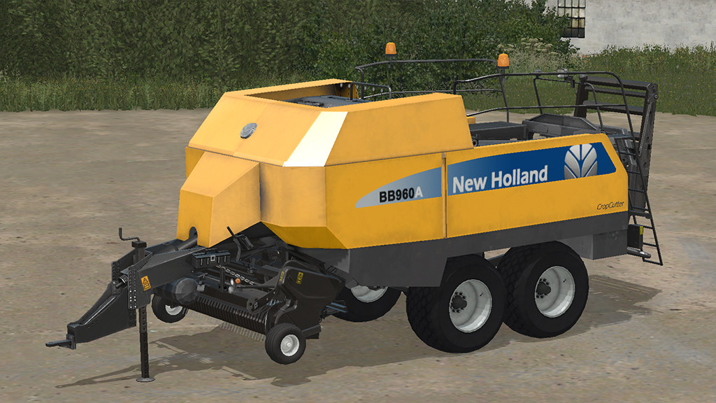 Photo of FS17 – New Holland Big Baler 960A Balya Makinesi