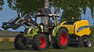 Photo of FS17 – Claas Arion 600 (610, 620, 630) V 3.0