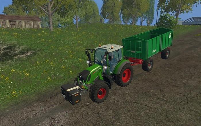 Photo of FS15 – Fendt 313 Vario Traktör V1.0.0.1