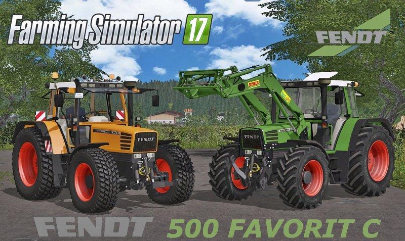 Photo of FS17 – FENDT 500 Favorit C Serisi Traktör V4