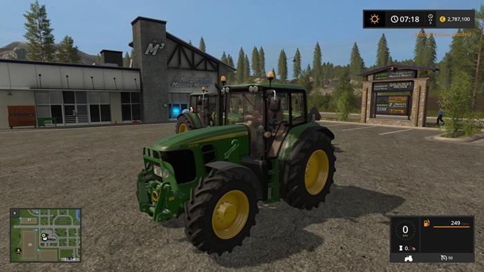 Photo of FS17 – John Deere 6030 Premium Traktör V1