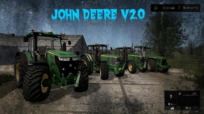 Photo of FS17 – John Deere Traktör Paketi V2