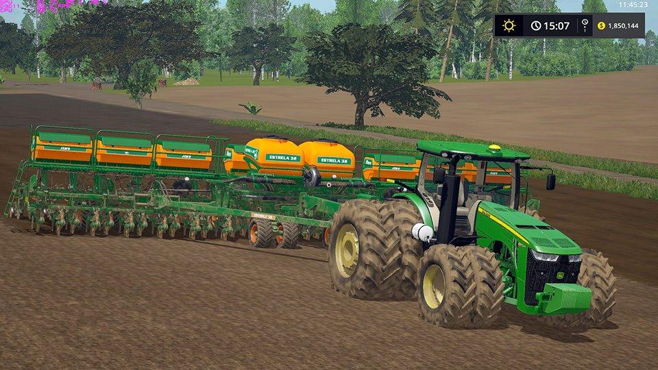 Photo of FS17 – JOHN DEERE 8R BR Traktör V1.0