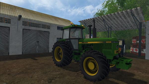 Photo of FS17 – John Deere 4850/4955 Traktör Yaması V 2.1.1