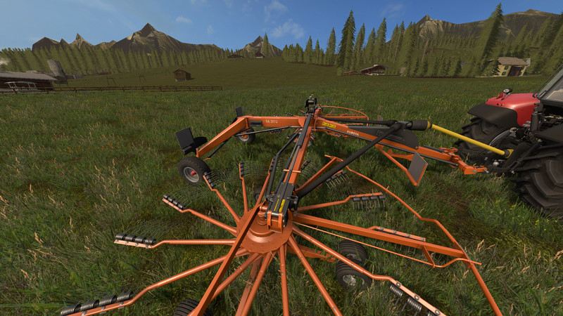 Photo of FS17 – Kubota RA 2072 Ot Kurutma V 1.0