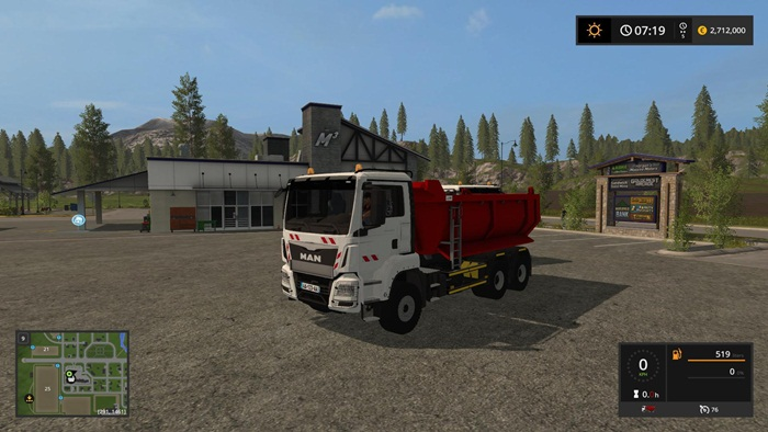 Photo of FS17 – Man Tgx 6×4 Benne Damperli Kamyon V1