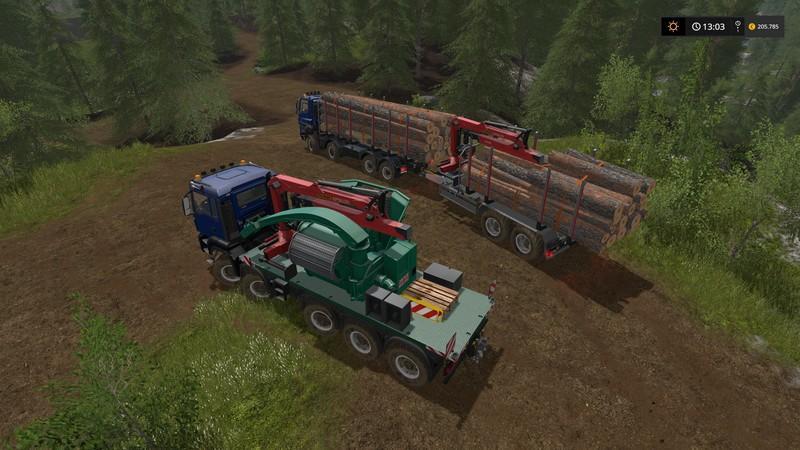 Photo of MAN TGS 6X / 8X / 10X AR-PAketi için Ormancılık Ekipmanı V2.1
