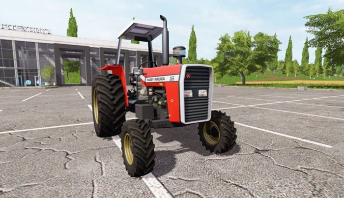 Photo of FS17 – Massey Ferguson 265 Traktör