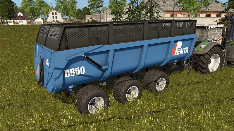 Photo of FS17 – PENTA DB 50 Römork Yaması V 1.0