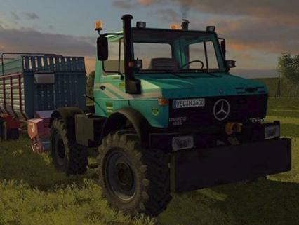 Photo of FS17 – Unimog U1600 V1