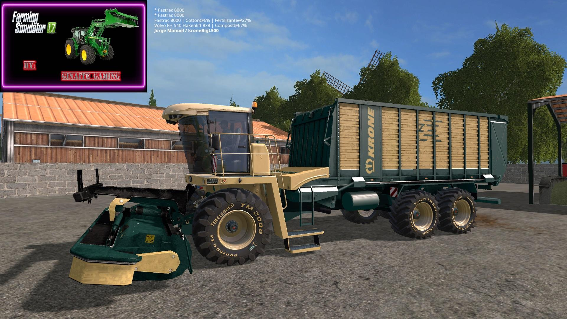 Photo of FS17 – Krone BigL-500 Pro Ot Kesici V1.0