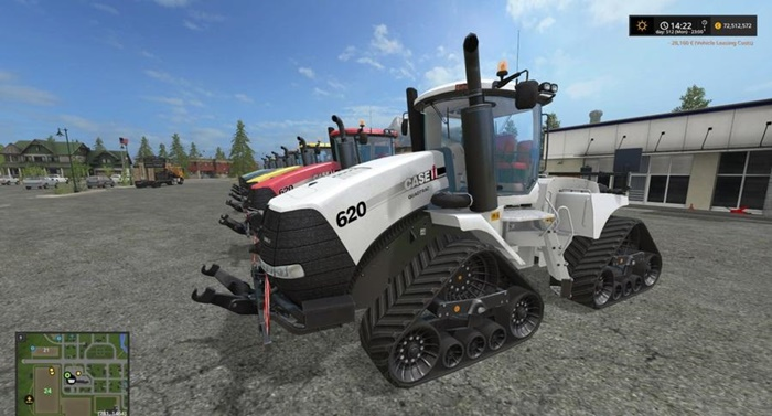 Photo of FS17 – Case Quad Trac 620 Traktör V1