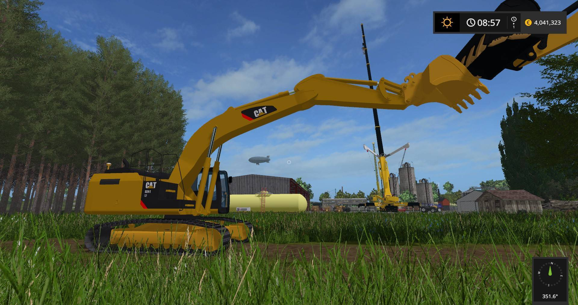 Photo of FS17 – Cat 345B Ekskavatör Modu
