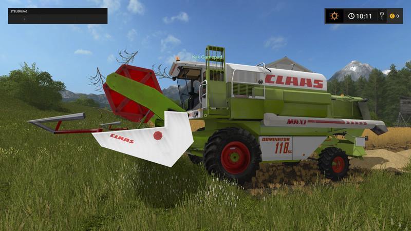 Photo of FS17 – Claas C540 Kesici Modu