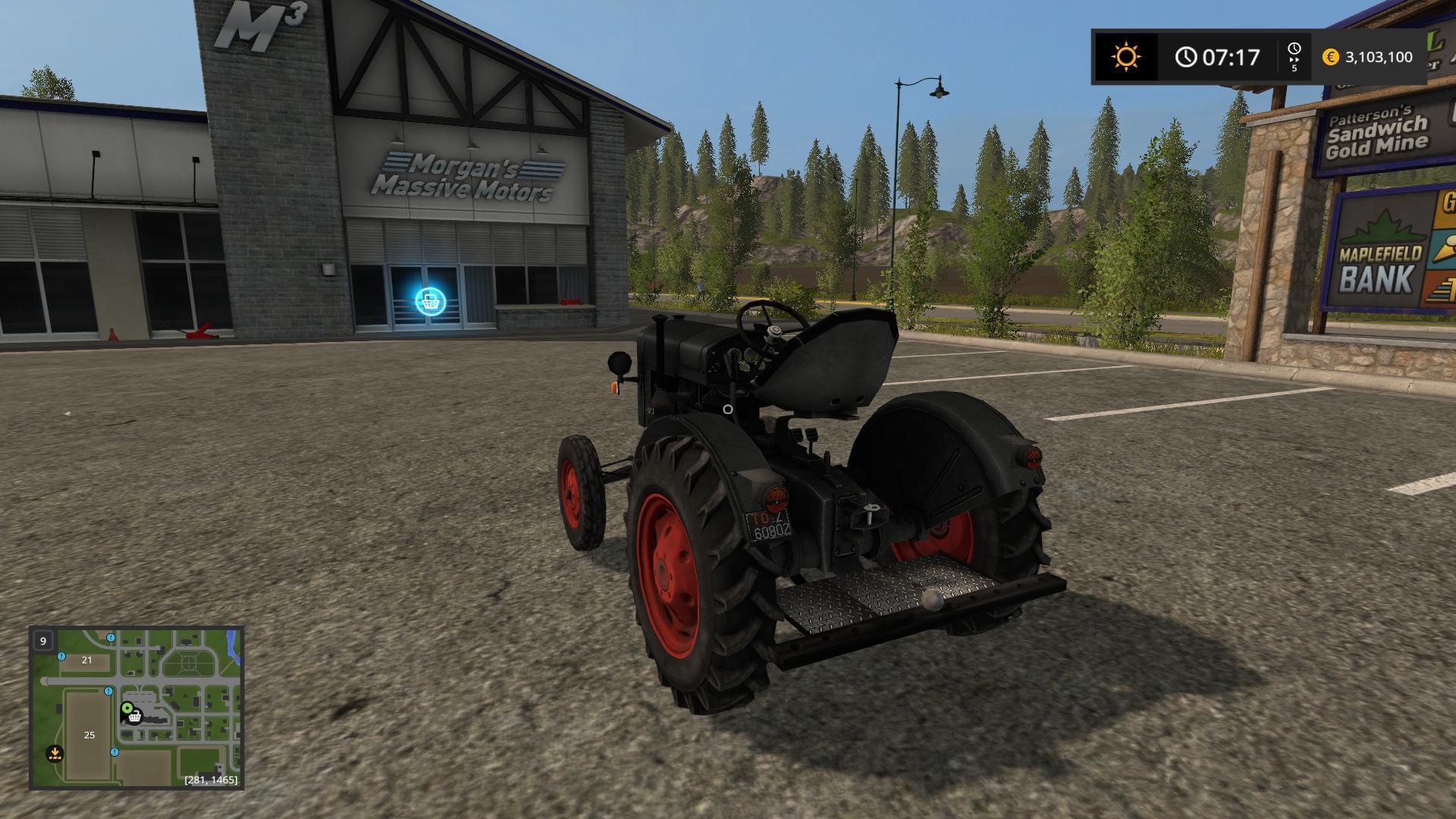 Photo of FS17 – Deutz-Fahr F22 Traktör