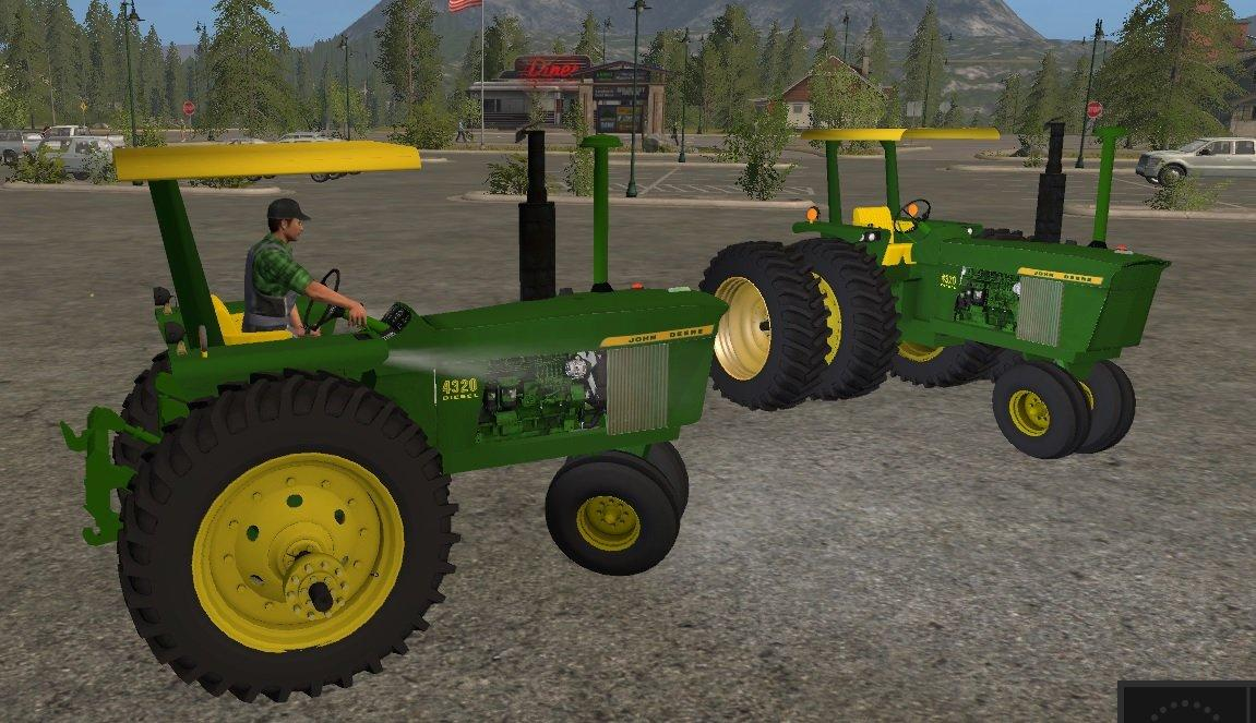 Photo of FS17 – John Deere 4320 Çift Lastik Traktör