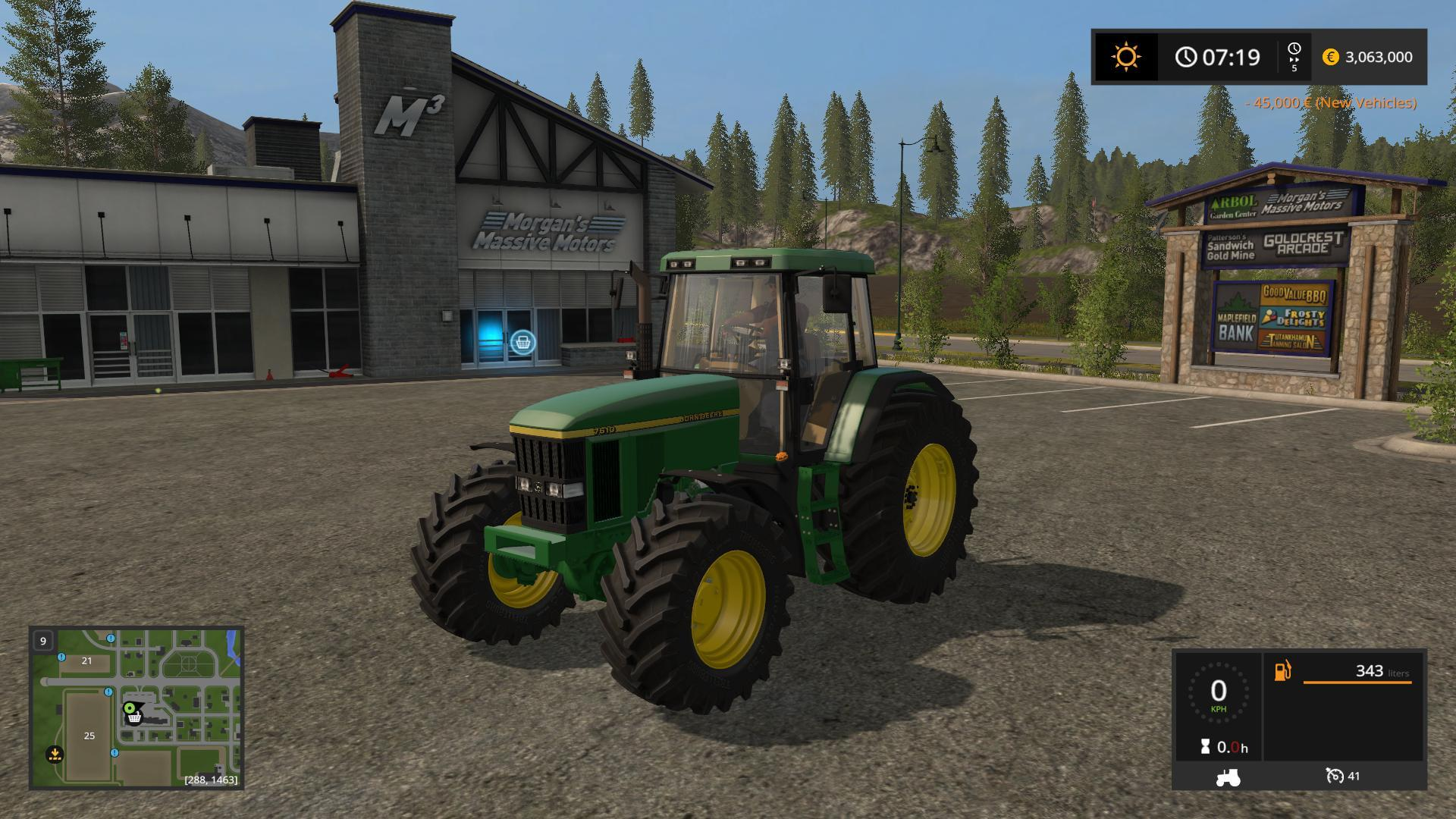 Photo of FS17 – John Deere 7010 Serisi V1.0