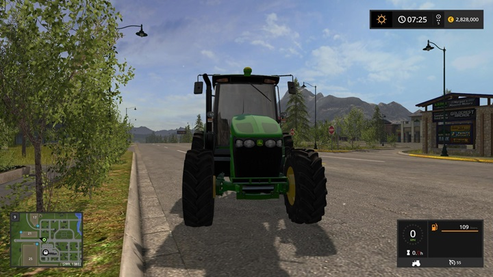 Photo of FS17 – John Deere 7J Traktör V1.0