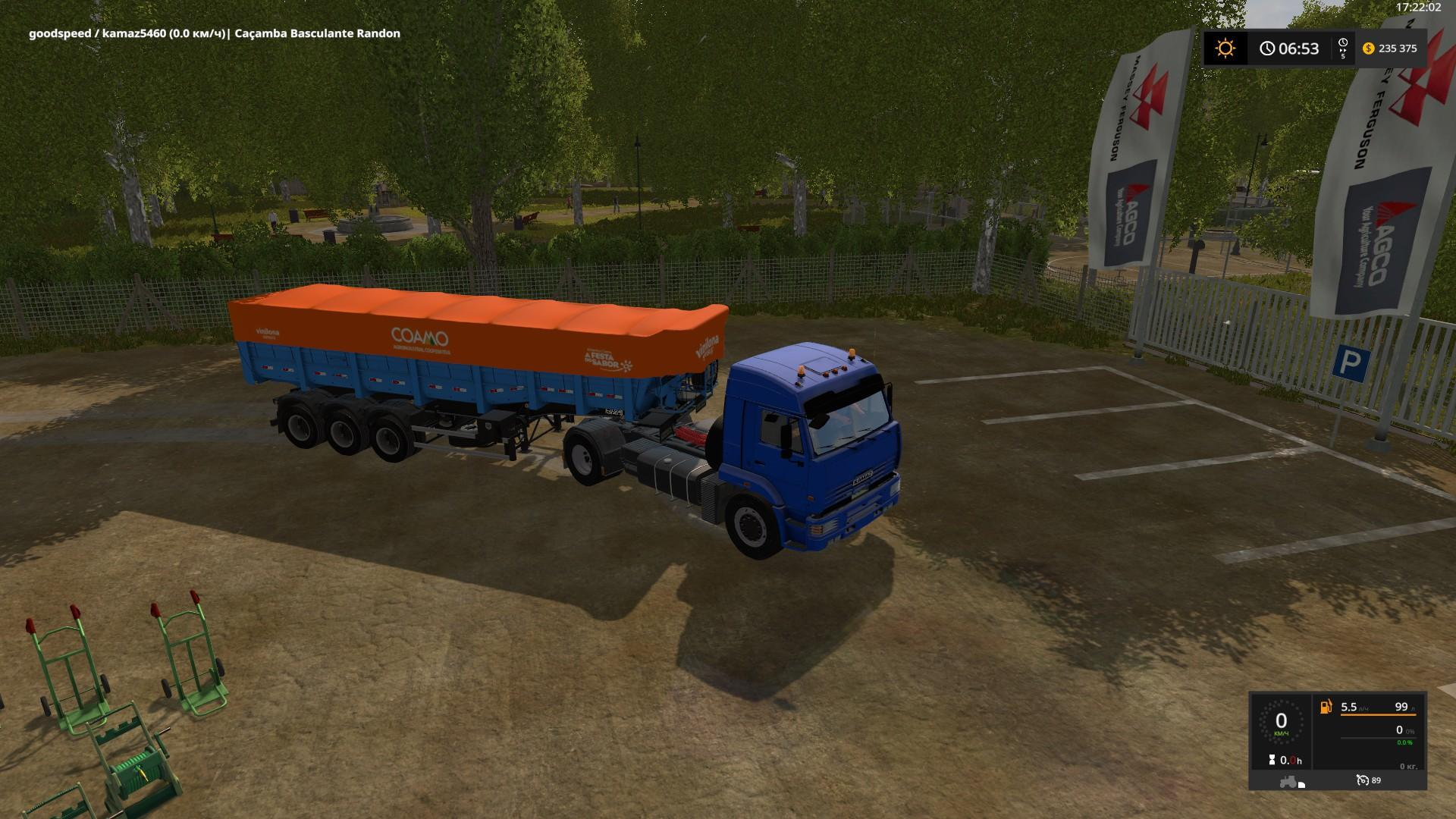 Photo of FS17 – Kamaz 5460 Tır Modu V1.1