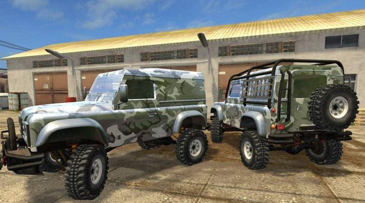 Photo of FS17 – Landrover Defender V1.0