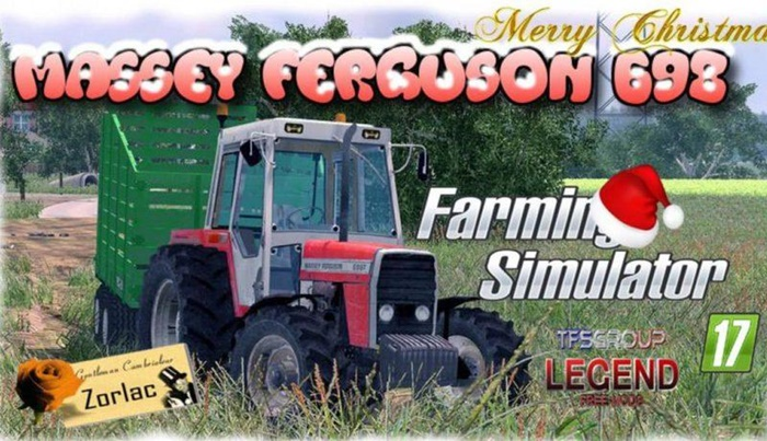 Photo of FS17 – Massey Ferguson 698 Eski Model Traktör V1