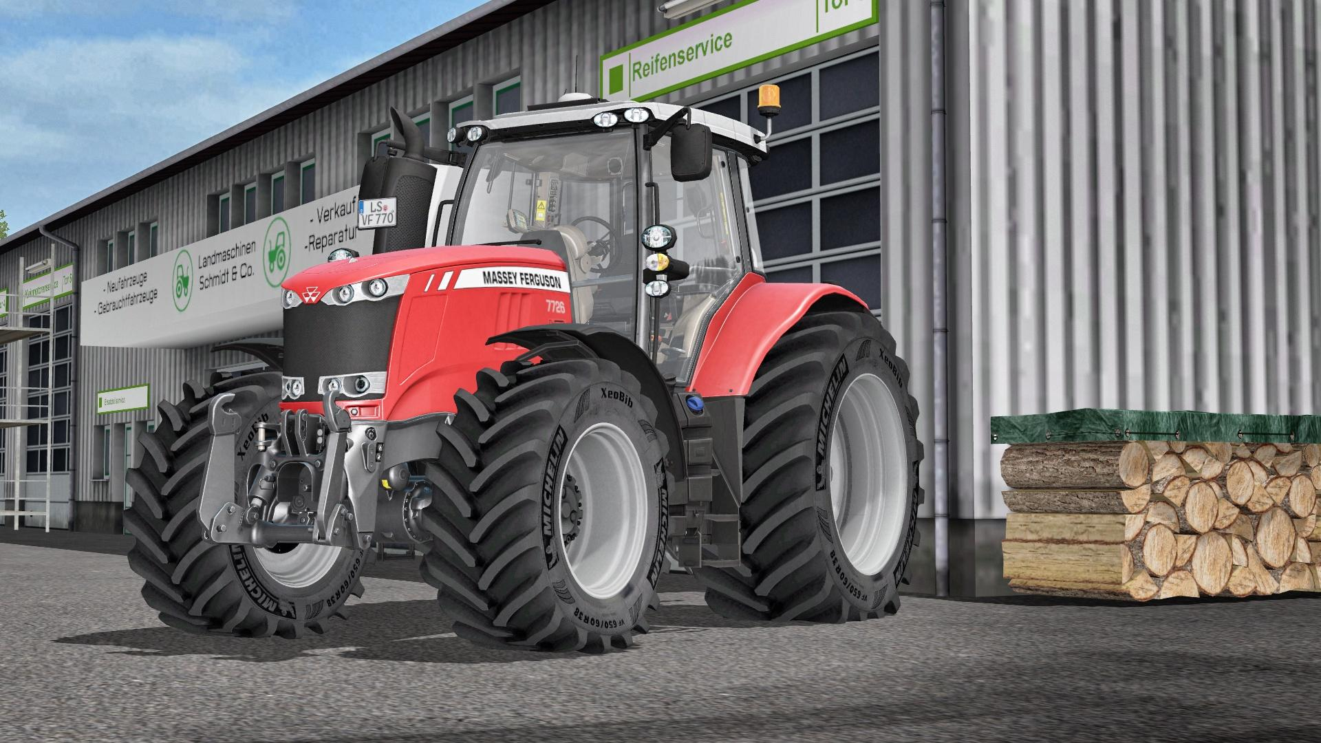 Photo of FS17 – Massey Ferguson 7700