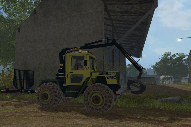 Photo of FS17 – Mercedes-Benz Trac 800 Ormancılık Traktörü