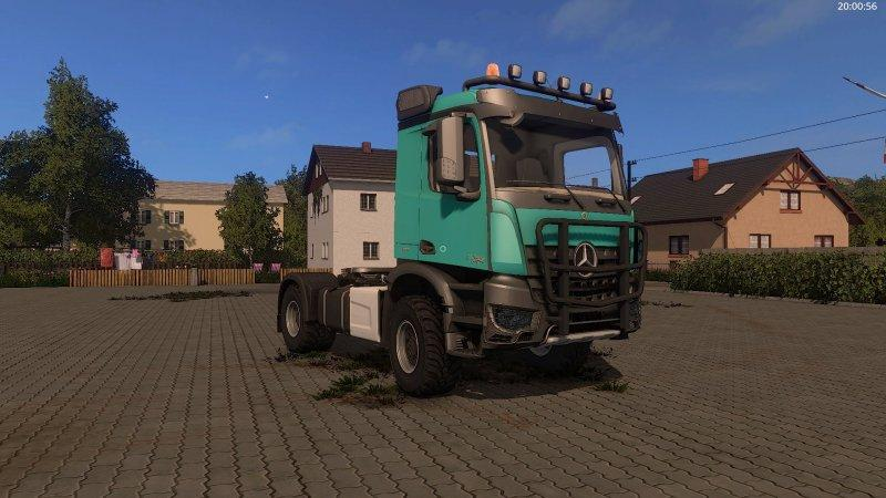 Photo of FS17 – Mercedes Benz Arocs Kamyon Modu V1.0