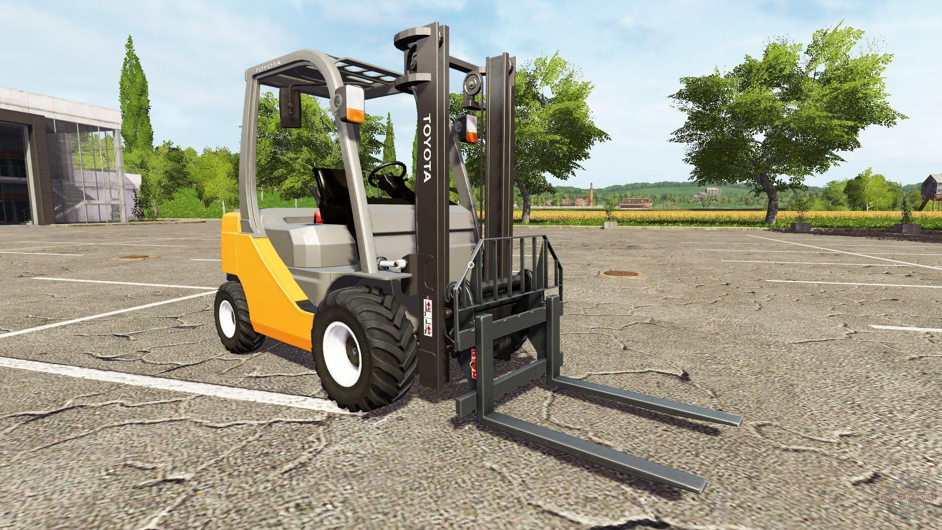 Photo of FS17 – Toyota 8FD Forklift V2.0