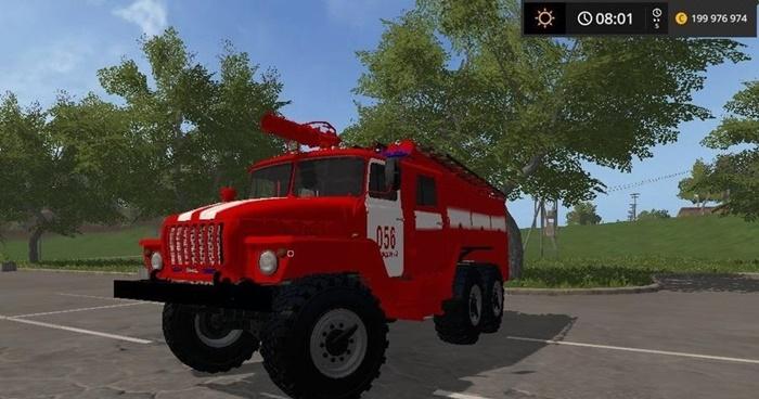Photo of FS17 – Ural İtfaiye Aracı V1.0