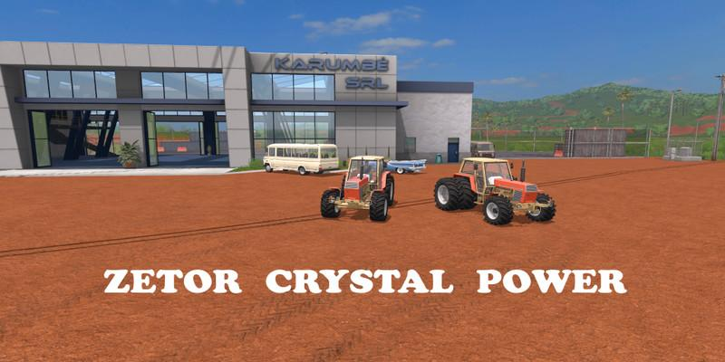 Photo of FS17 – Zetor Crystal Power Edition Traktör Modu