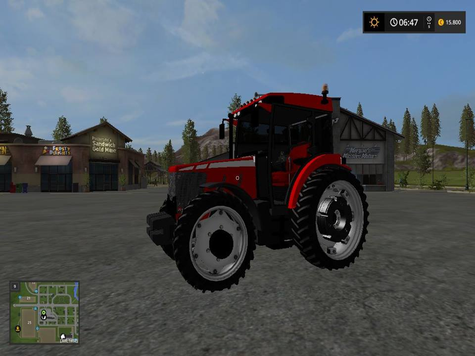Photo of FS17 Tümosan 9115 maxima v3