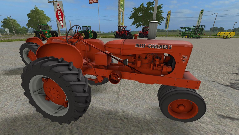 Photo of FS17 – Allis Chalmers Wd45 Traktör V1.0