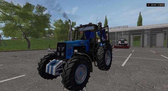 Photo of FS17 – Belarus 1221 Mtz Traktör V1.0