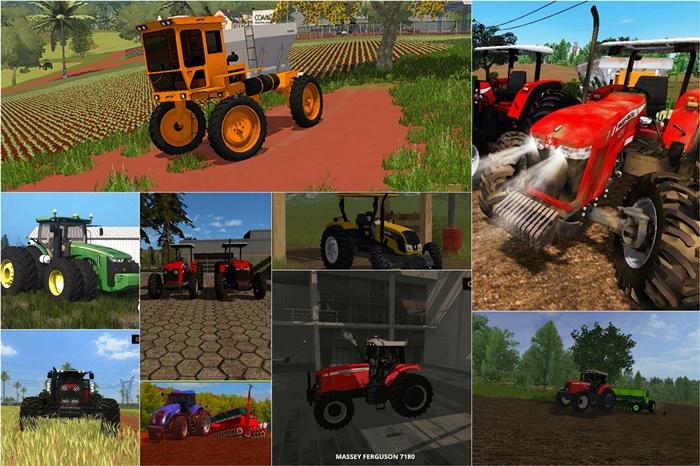 Photo of FS17 – Brezilya Versiyonlu Traktörler Paketi V1.0