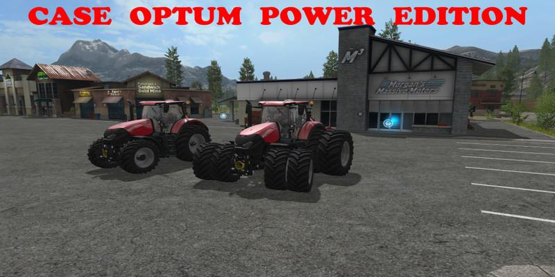 Photo of FS17 – Case IH Optum Power Edition Traktör Modu