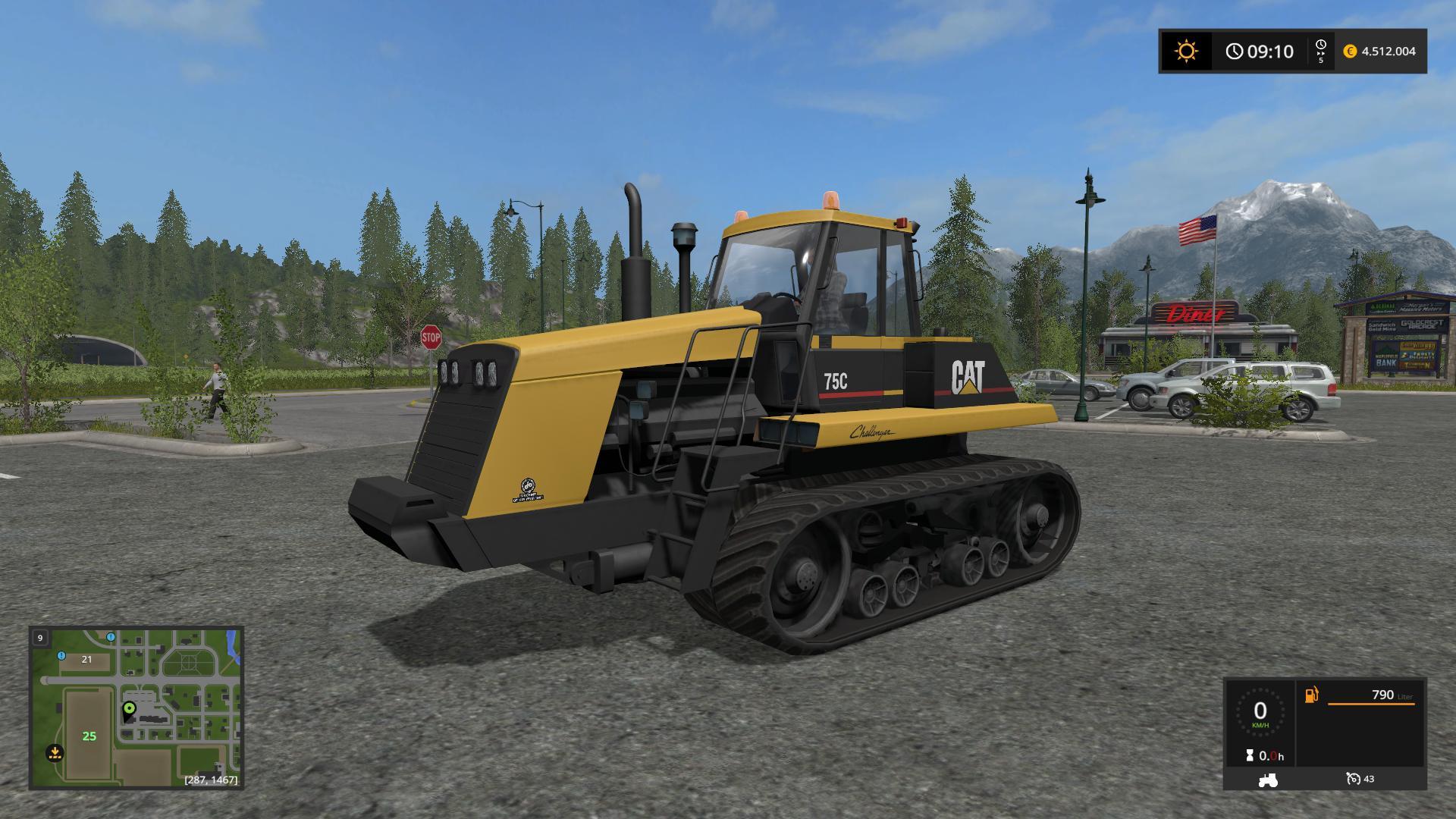 Photo of FS17 – Caterpillar 75c V1.1