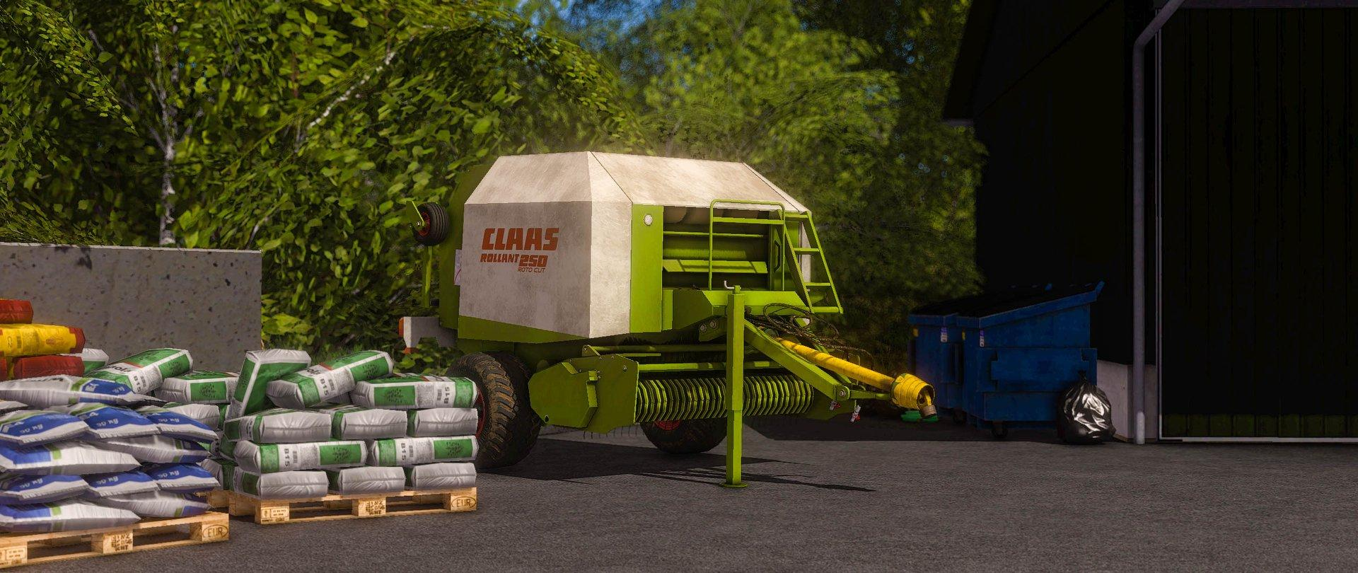 Photo of FS17 – Claas Rollant 250 Rotocut Balya Makinası V2.2