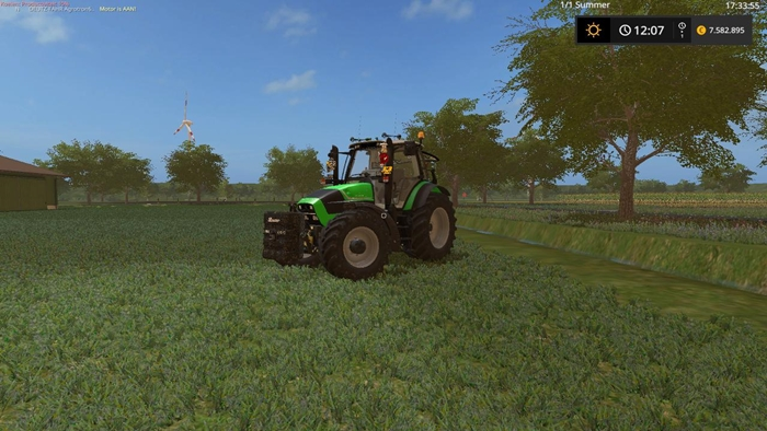 Photo of FS17 – Deutz 620 Agrotron Traktör Modu V2.0