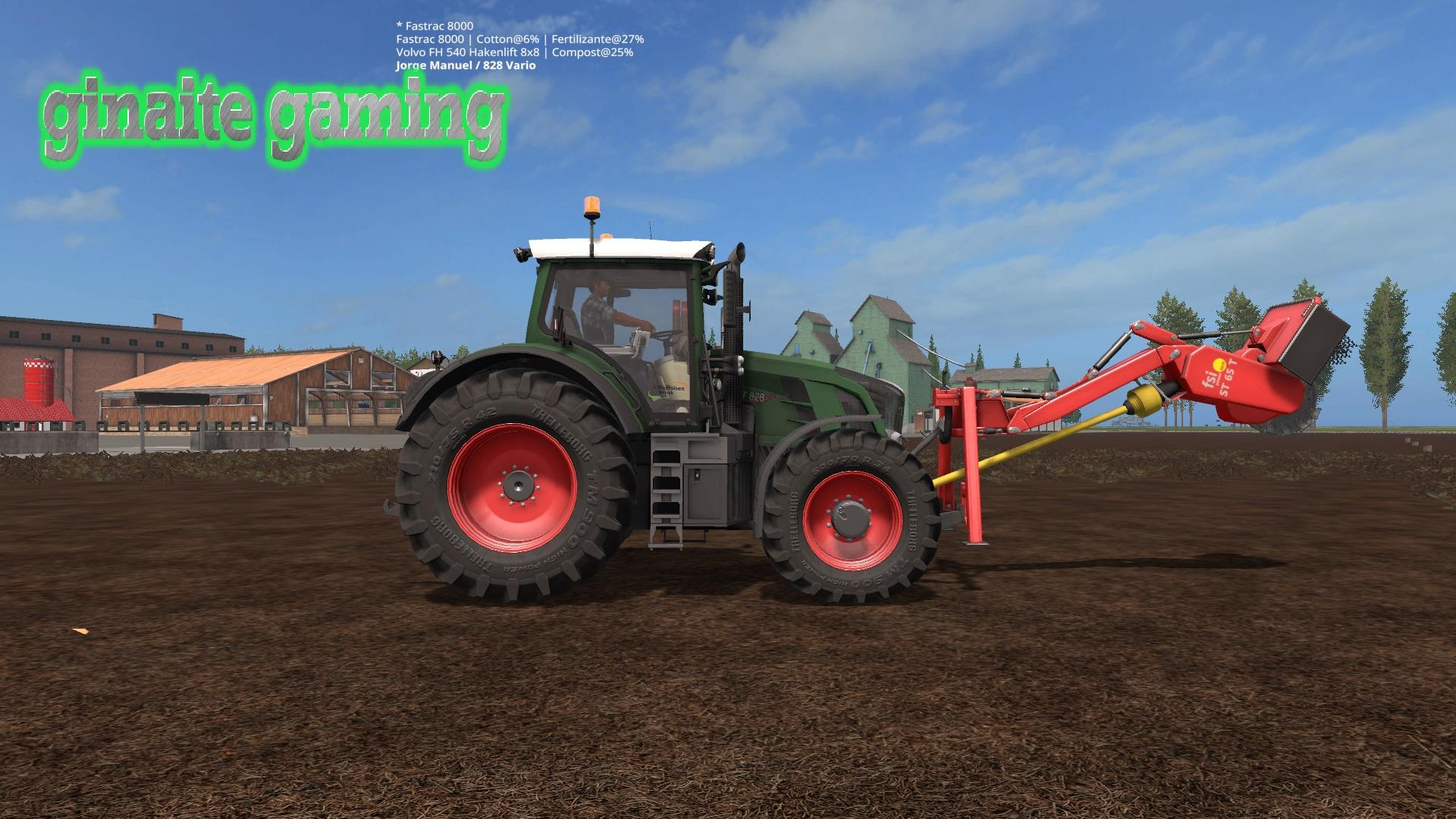 Photo of FS17 – Fendt Vario 828 Traktör Modu V1.0