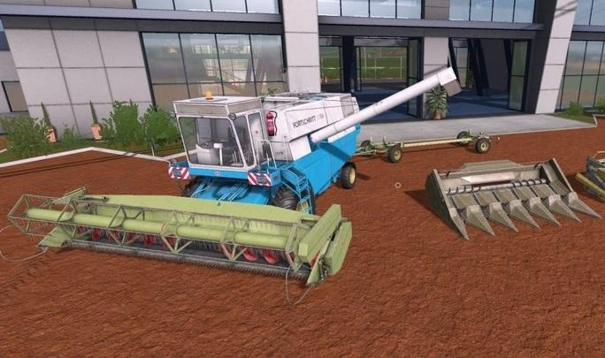 Photo of FS17 – Fortschritt E-516 Biçer Döver V1.1