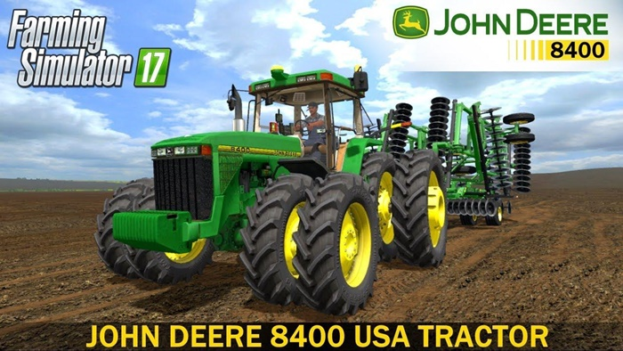 Photo of FS17 – John Deere 8402 Amerikan Traktör Modu V1.0.2