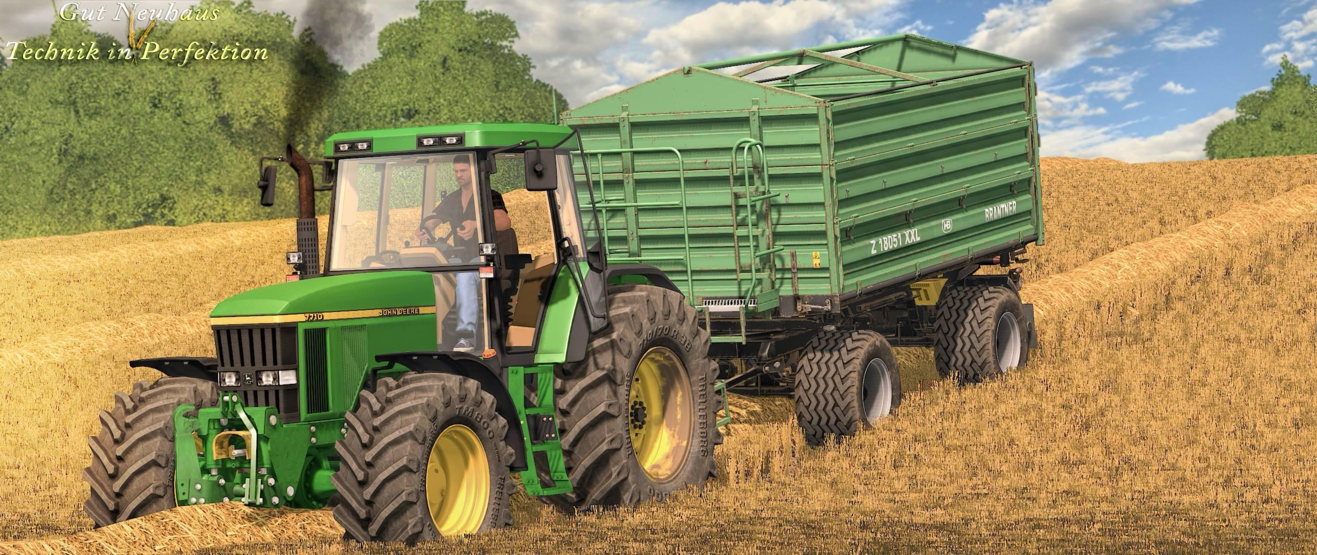 Photo of FS17 – John Deere 7710/7810 Traktör V2.0
