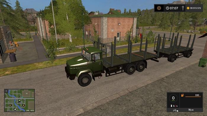 Photo of FS17 – Kraz 6233 M6 Lesovoz V1.0