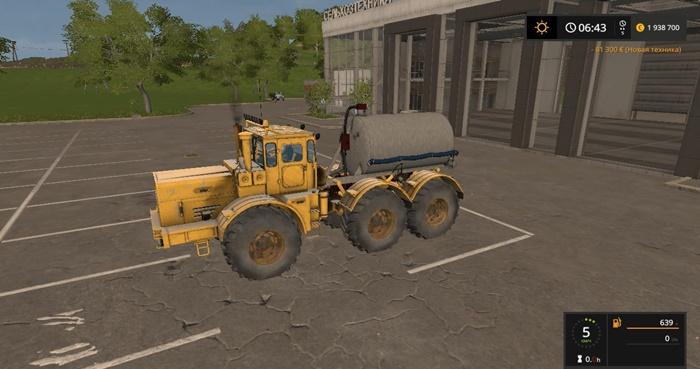 Photo of FS17 – Kirovets K-701 6×6 Traktör V1